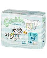 Crinklz Brief  (Aquanaut) - Plastic Backed