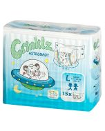Crinklz (Astronaut) Adult Diaper Brief for Incontinence