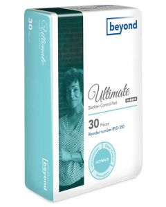 Beyond Ultimate Adult Incontinence Beyond Bladder Pads - 11.75 Inch