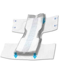 LiveAnew Booster 2XL Adult Incontinence Booster Pad - 31.5 Inch