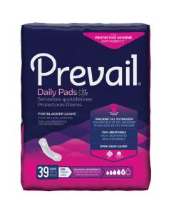 Prevail Maximum Long Adult Incontinence Bladder Control Pad - 13 Inch