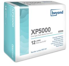 Beyond XP5000 Adult Diaper Brief for Incontinence