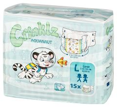 Crinklz (Aquanaut) Adult Diaper Brief for Incontinence